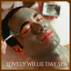 #facial  #skincare #dayspa #haircut #men's  Lovely Willie Day Spa and Salon  Call 910-381-9114  Jacksonville NC 28546