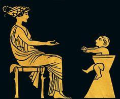 Cómo se criaba a los niños en la antigua Grecia · National Geographic en español. · Secciones