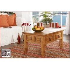 Couchtisch Wohnzimmertisch Mexico Landhausstil Aus Mexiko Pinie Massivholz Mobel 1a Direktimport In 2020 Living Room Table Solid Wood Coffee Table Living Room Coffee Table