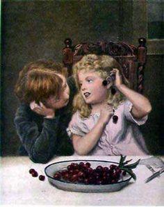 Cherry Earings by Frederick Morgan