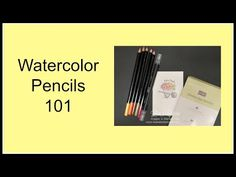 Quick Crafting Tip - Watercolor Pencils 101 - Lisa's Stamp Studio