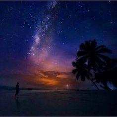 Vía Láctea Desde Guna Yala .. QUE BELLEZA