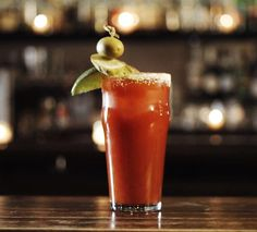 While the origin of this popular brunch cocktail is debatable, the Bloody Mary's staying power leaves no question. The Bloody Mary is a vodka-soaked nutritional breakfast and hangover cure all in one. Best Bloody Mary Recipe, Bloody Mary Recipes, Pina Colada, Pickled Okra, Jus D'orange, Tomato Juice, Classic Cocktails, Festive Cocktails, Stuffed Sweet Peppers