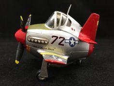"""Hasegawa EggPlane Mustang of the """"Tusk-EGG-ee Airmen"""""""