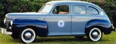 1941 Ford, Mass State Police...