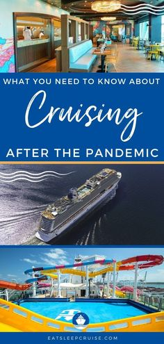 For those ready to hit the oceans, we breakdown everything you need to know about taking a cruise after the pandemic so you can make the most of your trip. #cruise #cruisetips #cruiseplanning #traveltips #eatsleepcruise Packing List For Cruise, Cruise Tips, Cruise Travel, Cruise Vacation, Vacations, Cruise Excursions, Cruise Destinations, Paradise Cruise, Cruise Ship Reviews