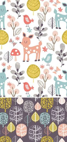 wendy kendall designs – freelance surface pattern designer » woodland walk