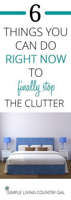 Tips to declutter your home right now. Easy tips you can do no matter what your home looks like! From easy to hard, learn to cut the clutter. #declutter #organize