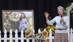 Joey Feek's public memorial service in Alexandria, Ind.  Article includes video of Rory's remarks.