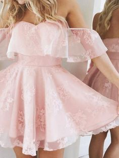 A-Line Homecoming Dress,Lace Prom Dress Short Prom Dresses,Short Pearl Pink Homecoming Dress,Lace Homecoming Dresses,short prom dress Lace Homecoming Dresses, Hoco Dresses, Dance Dresses, Graduation Dresses, Wedding Dresses, Flower Dresses, Quinceanera Dresses, Dress Outfits, Lace Wedding