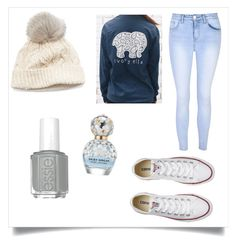"""""""winter❤"""" by madelynnnnnnnne on Polyvore featuring Glamorous, Converse, SIJJL and Marc Jacobs"""