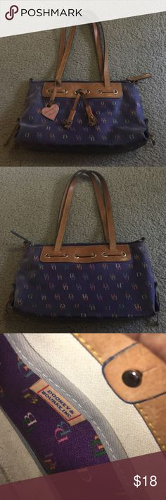Dooney & Bourke purple purse Very cute purse Dooney & Bourke purse  •With every purchase you get one of my $5 or less items for free! Or do a buy one get one free on any $5 item! Dooney & Bourke Bags Hobos