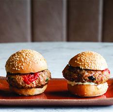 Harissa Mutton Sliders - Get the Recipe | Duck & Waffle