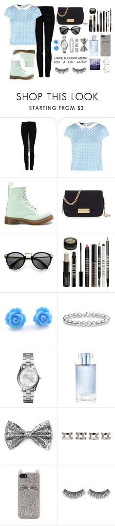 """""""Untitled #229"""" by peacewithiin ❤ liked on Polyvore featuring Calvin Klein, Dr. Martens, Henri Bendel, Lord & Berry, Blue Nile, Michael Kors, Orlane, Forever 21, Maison Margiela and Kate Spade"""