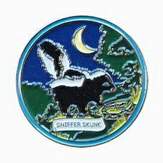 Wildlife Muggles Series 2007 - Sniffer Skunk, nickel