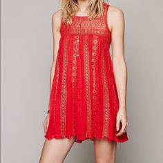 Free People Annabella Lace Dress Gently used. Great condition! Free People Dresses