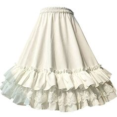 Partiss Women's Chiffon Lace Lolita Skirt,Long,White Partiss http://www.amazon.com/dp/B01FM8E13G/ref=cm_sw_r_pi_dp_Vp9oxb1DMK5BT
