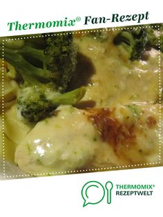 Chicken breast fillet with broccoli sauce from sabri. A thermomix .- Chicken breast fillet with broccoli sauce from sabri. A Thermomix ® recipe from the main course with meat category at www.de, the Thermomix ® Community. Crock Pot Recipes, Beef Recipes, Vegetarian Recipes, Asian Recipes, Soup Recipes, Soup Appetizers, Appetizer Recipes, Dinner Recipes, Chicken Sauce Recipes