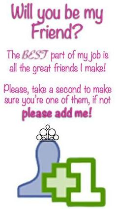 Add me as a friend!! :) Contact me today! www.paparazziaccessories.com/28406 my fan page us www.facebook.com/holliestreasurebox :)