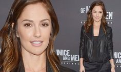 Minka Kelly shines in basic black at the opening night Of Mice And Men http://dailym.ai/P6qVID #DailyMail