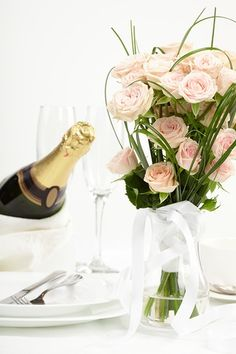 Champagne on a white background Champagne, Stock Photos, Table Decorations, Holiday, Backgrounds, Tea, Home Decor, Vacations, Decoration Home