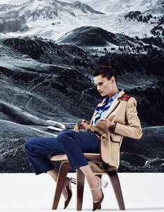 visual optimism; fashion editorials, shows, campaigns & more!: elena melnik by ahmet unver for l'officiel turkey january 2015