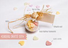 pour remplacer les dragées   http://www.mariagesetbabillages.com/deco/cadeaux-invites/sucres-a-croquer