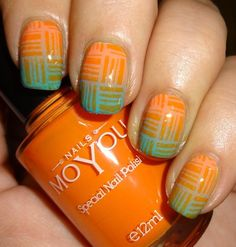 MoYou Nails Stamping Plate 122  20% off use WENDYSP at check #orangemani  #nailart - Go to bellashoot.com or #beautyapp for beauty inspiration!