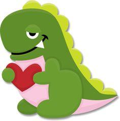 Free SVG File – Sure Cuts A Lot – 01.17.11 – Cute Dinosaur | SVGCuts.com Blog