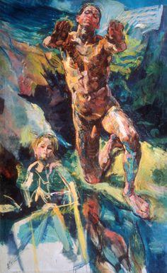 anton kolig - Figure Painting, Figure Drawing, Male Figure, Anton, Figurative Art, Fine Art, Vienna, Drawings, Austria