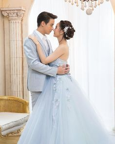 Thai Wedding Dress, Wedding Dresses, Game Of Love, Daniel Padilla, Thai Drama, Young Fashion, Sweet Couple, Wedding Photoshoot, Traditional Dresses