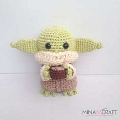 Baby Yoda Amigurumi – Minasscraft Patrones Amigurumis