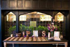 Jim Canole Photography | #AldenCastle #LongwoodVenues #BostonWedding #Wedding #Bride #Groom #Reception #CocktailHour #EscortCards #EscortTable #WeddingDetails #Details #CorkLetters #LuggageTags http://www.jimcanole.com http://www.longwoodevents.com