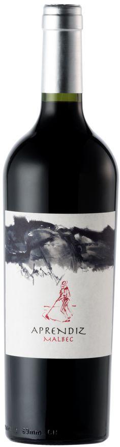 """""""Aprendiz* Malbec 2012 - Chaman wines, Valle de Uco, Mendoza------------------------------- Terroir: La Consulta (San Carlos)-------------------------------------Crianza: 12 meses en barricas de roble frances, 50% nuevas y 50% de 2 y 3 uso Wine Labels, Bottle Labels, White Wine, Red Wine, Malbec Wine, Bordeaux Wine, Wine Packaging, Label Design, Alcoholic Drinks"""