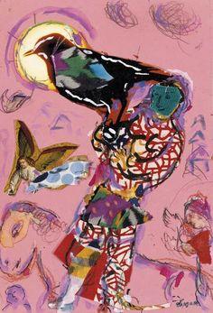 Esquisse pour L'Oiseleur - Marc Chagall