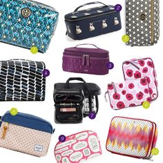 Rank & Style | Top Ten Fashion and Beauty Lists - Toiletry Bags #rankandstyle