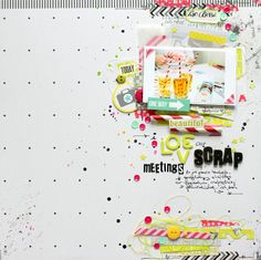 Scrapbooking Inspiration Page