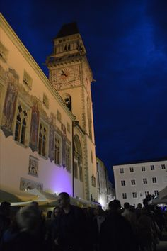 Kunstnacht Passau Louvre, Building, Travel, Passau, River, Bavaria, City, Germany, Traveling