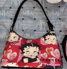 Aesthetic Fashion, Aesthetic Clothes, Cute Bags, Betty Boop, Cute Jewelry, My Bags, Purses And Handbags, Fashion Bags, Diaper Bag