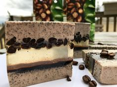 Coffee Soap Bars made by Letitia