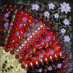 Sewing | Quilt | Crazy Quilt | Embroidery
