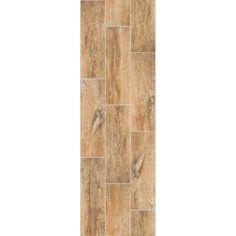 "Shaw Channel Plank Brandy 7 x 22"" Ceramic Tile | WeShipFloors"