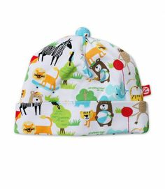 What A Zoo Baby Hat