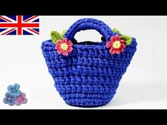 How to make Crochet Handbags How to Knit DIY Crochet Basket Crochet Purse crochet patterns Mathie