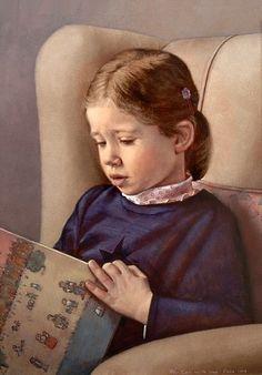 """""""Eva Reading"""" Scott E. Bartner"""