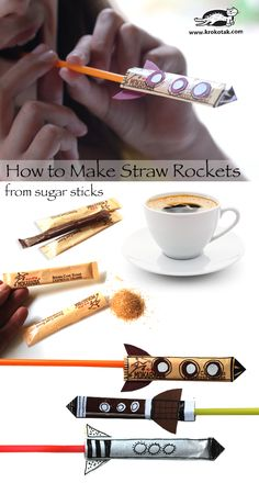 Let's Make a Rocket from Empty Sugar Sticks