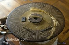 Gat: Korean traditional hat made of bamboo and horsehair