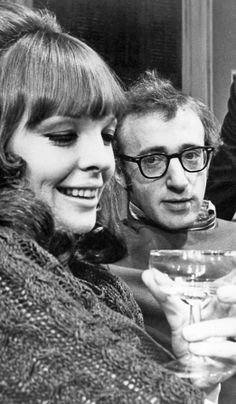 Diane Keaton and Woody Allen.