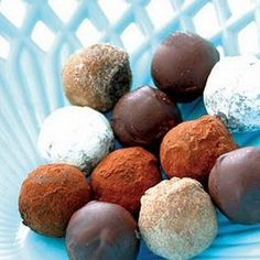 udaipur food channel: Dark Chocolate Truffles