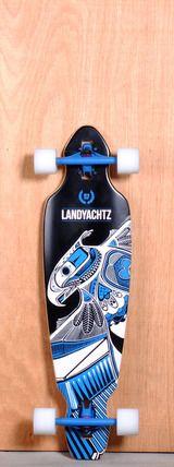 """Landyachtz 35.25"""" Battle Axe Longboard Complete"""
